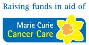 Raising funds in aid of logo