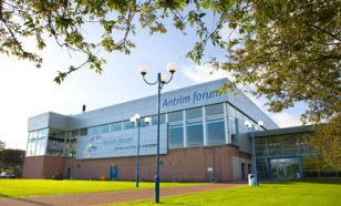 Antrim Forum outside