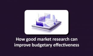 Good market research improve budgetary effectiveness image